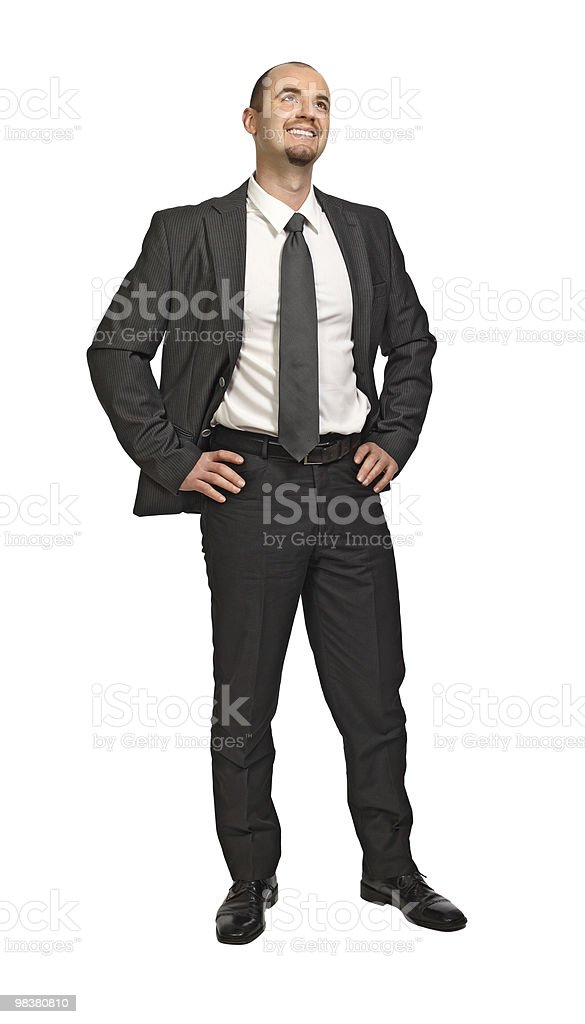 succesfull man royalty-free stock photo