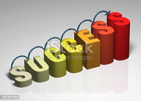 istock Success 3D 537551854