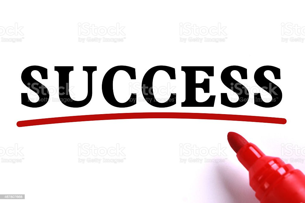 Success Abstract stock photo