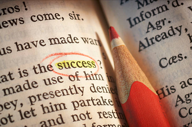 """Success according to Shakespeare The word """"SUCCESS"""" is highlighted in W. Shakespeare's """"The Tragedy of Antony and Cleopatra"""", ACT III, SCENE V english language stock pictures, royalty-free photos & images"""