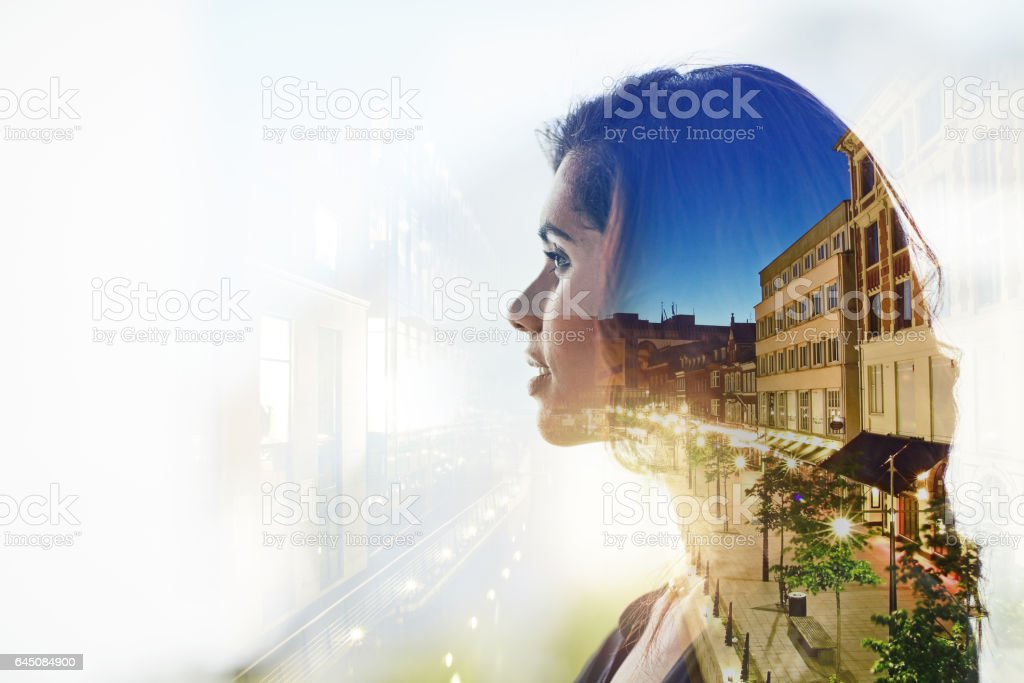 Success always starts with a vision stock photo