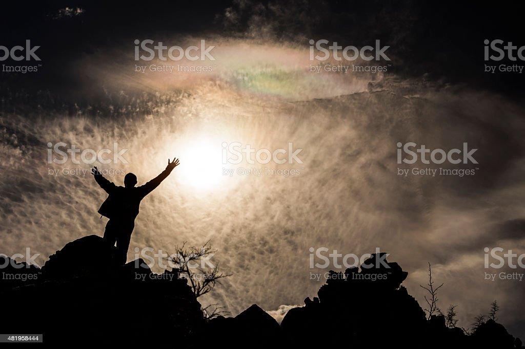 Success and Achievement Concept stock photo