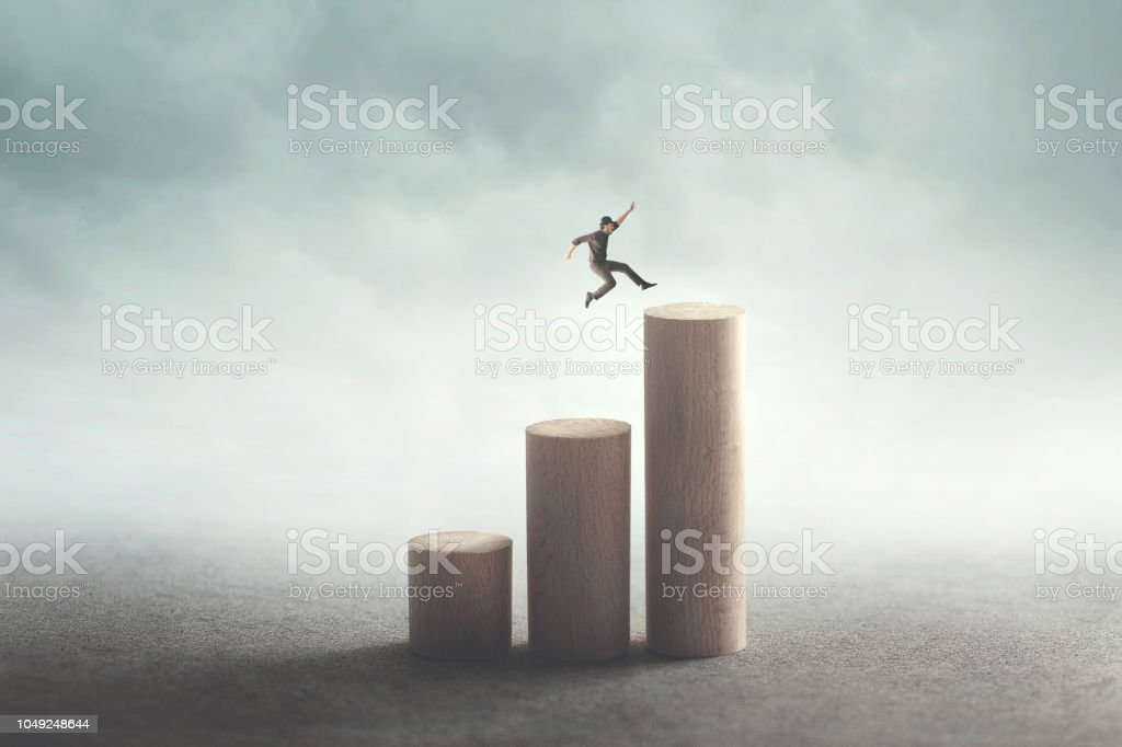success and ambition concept stock photo