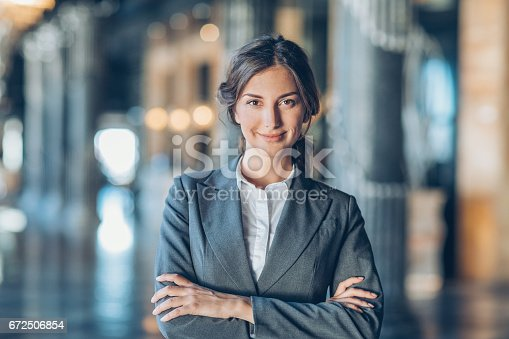 istock Success and confidence in business 672506854