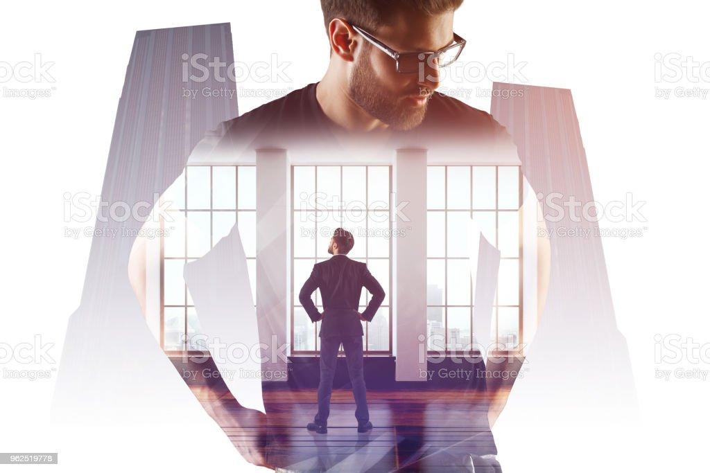 Conceito de sucesso e liderança - Foto de stock de Adulto royalty-free