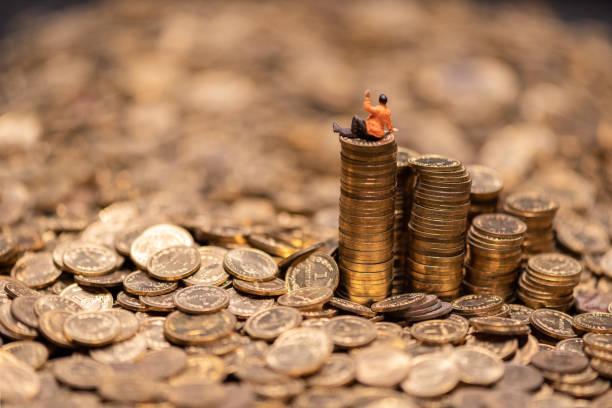 Erfolg und Geld, materielle Werte – Foto