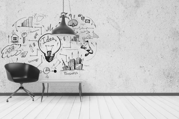 성공과 솔루션 개념 - 광고 뉴스 사진 이미지