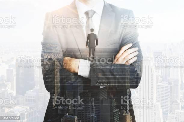 Succes En Werk Concept Stockfoto en meer beelden van Alleen mannen