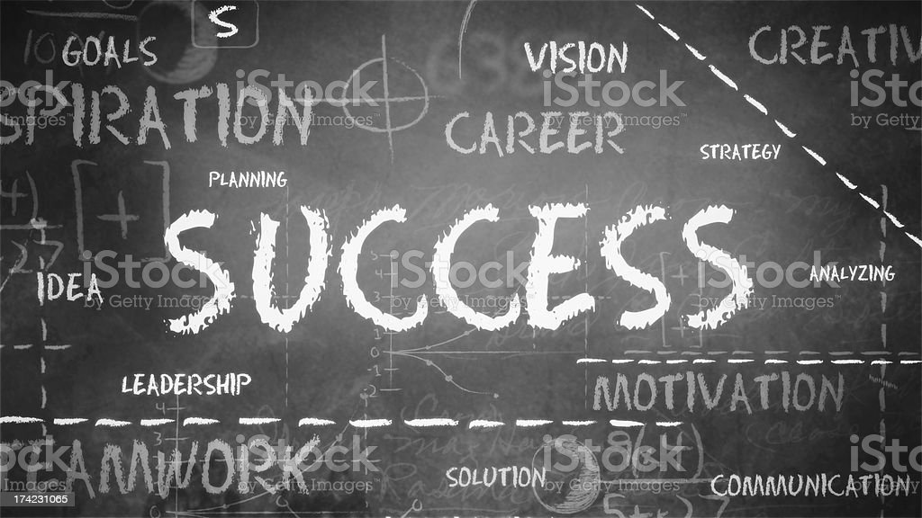 Success Background royalty-free stock photo
