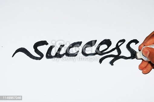 Motivational writing: success starts from self intention