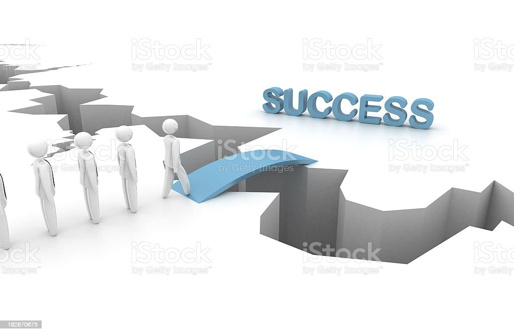 Success - bridge stock photo