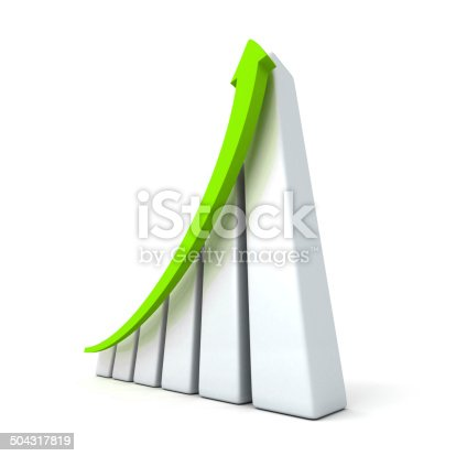465048456istockphoto success business graph with rising up arrow 504317819