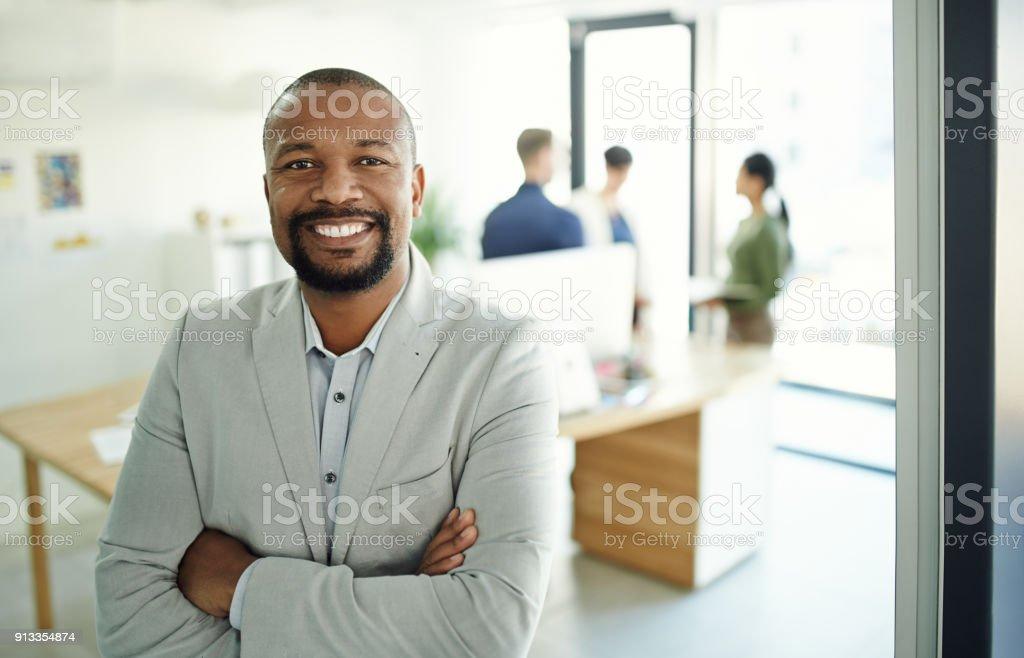 Erfolg kommt zu denen, die sind zuversichtlich, es zu nehmen – Foto