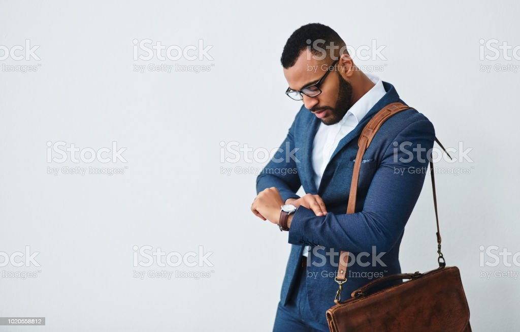 Success comes to those who make time for it stock photo