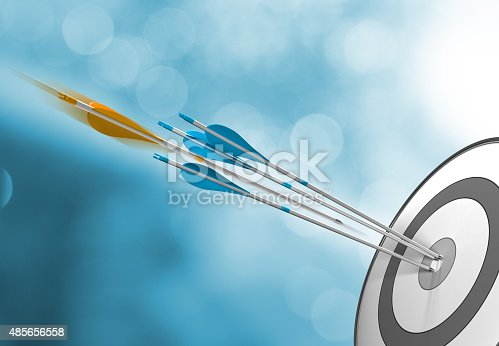 istock Success Concept, Hitting Target 485656558
