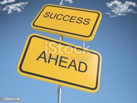 istock Success Concept 1206431199
