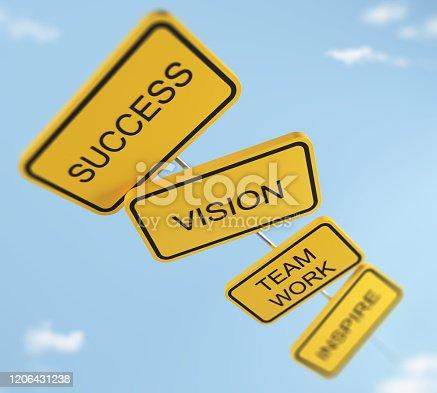 istock Success Concept 1206431238