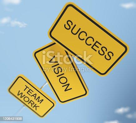 istock Success Concept 1206431938