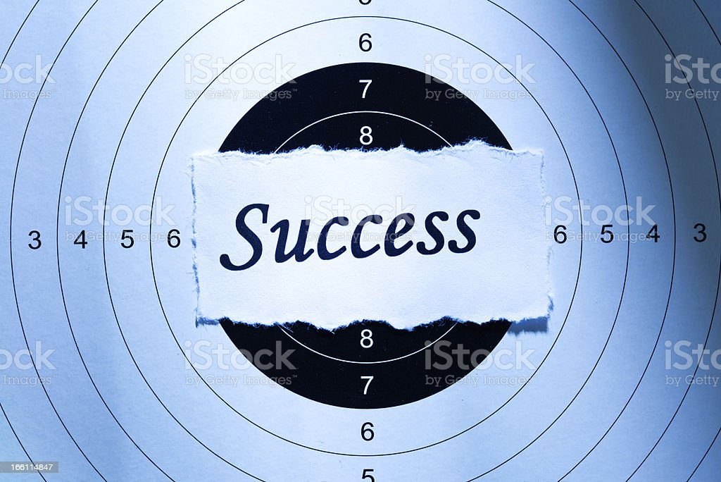 Success concept royalty-free stock photo