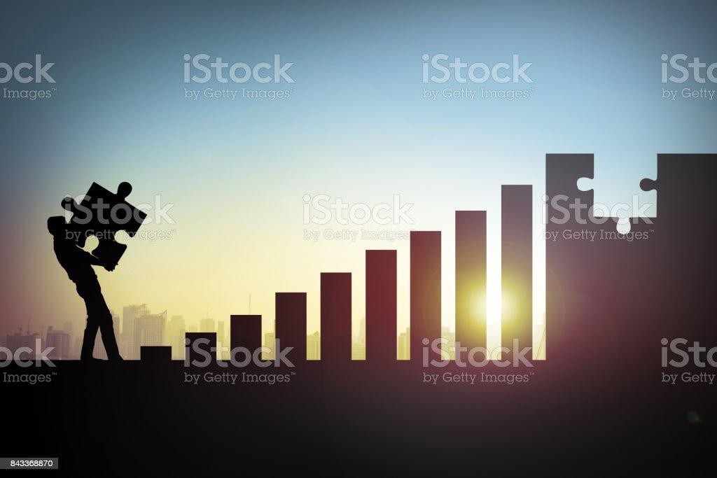 Concepto de éxito - Foto de stock de Actividades bancarias libre de derechos