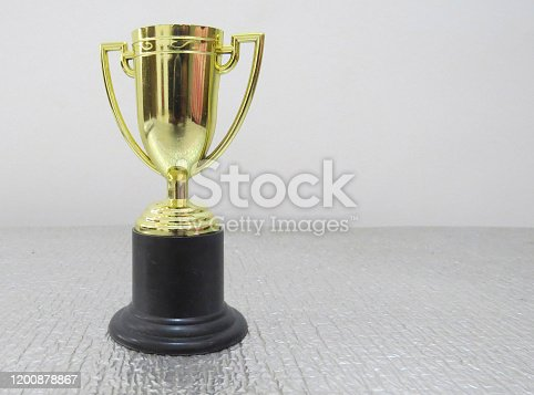 544347868 istock photo Success concept victory trophy. 1200878867
