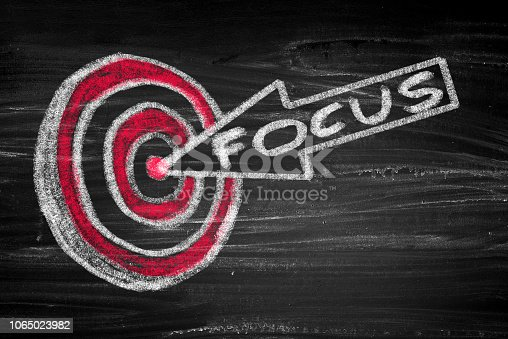 840201636 istock photo Success concept with target and arrow 1065023982