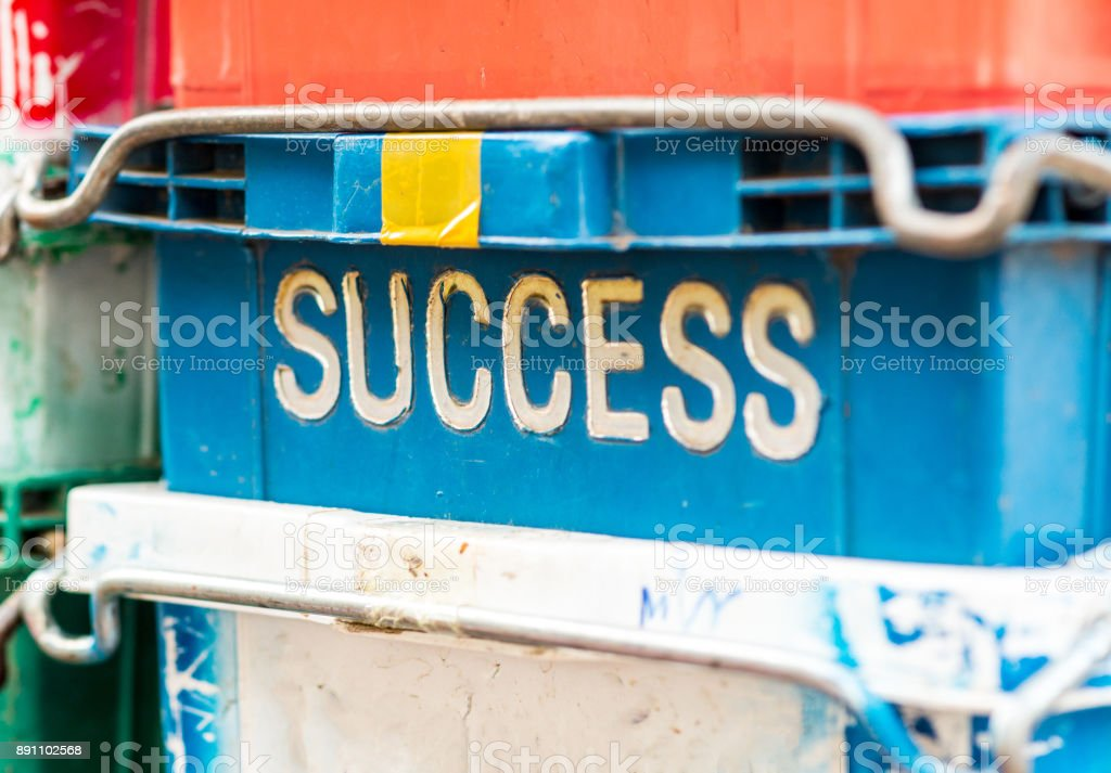 Success conceptual image stock photo