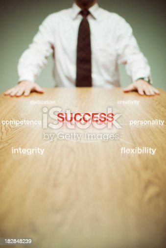 istock Success diagram 182848239