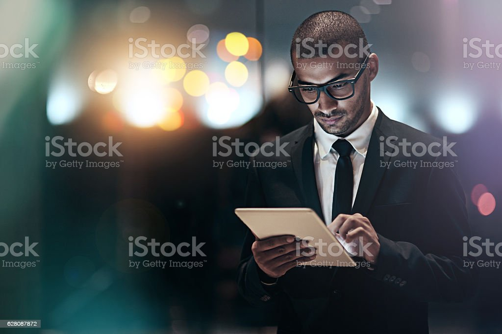 Success doesn't restrict itself to a 9-5 workday stock photo