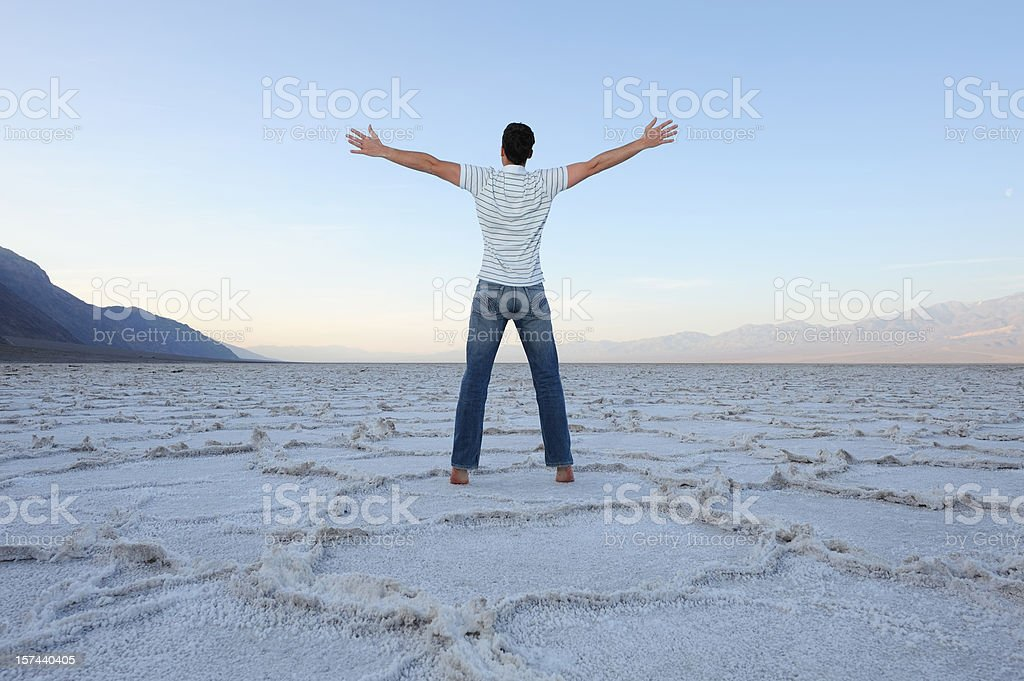 Success - Feel the Power of a New Day stock photo