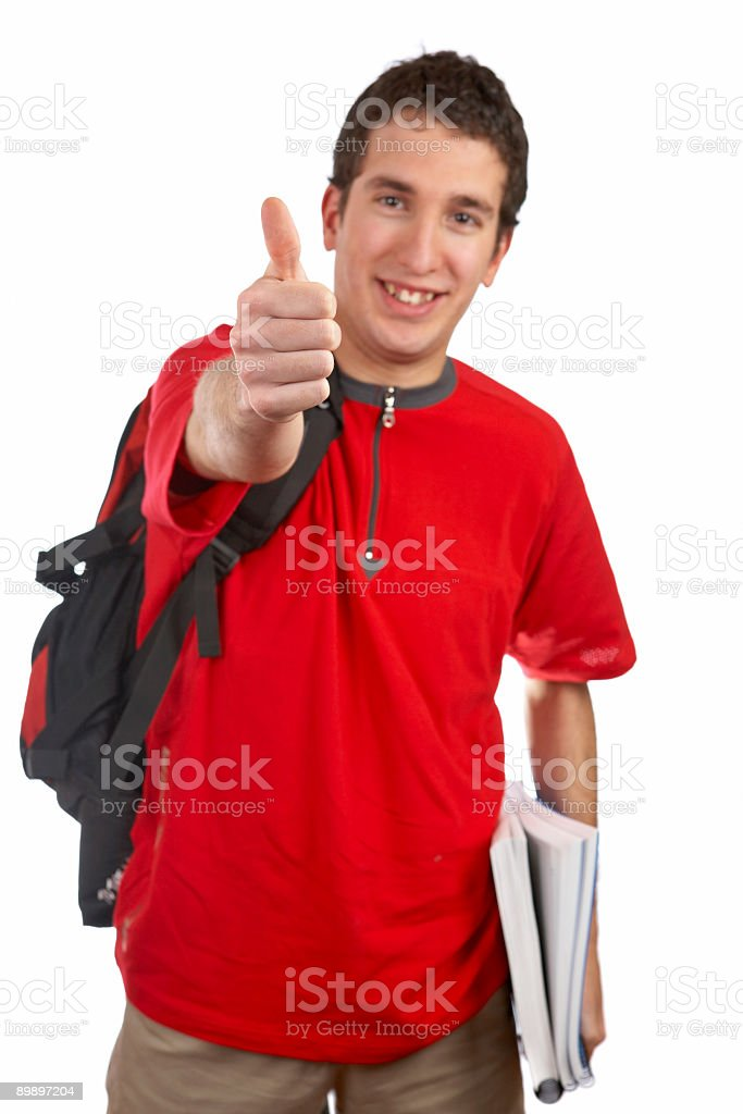 Success gesture royalty-free stock photo