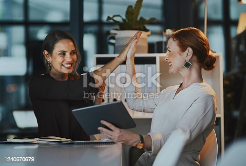 1031394114 istock photo Success goes beyond the 9-5 1240670679