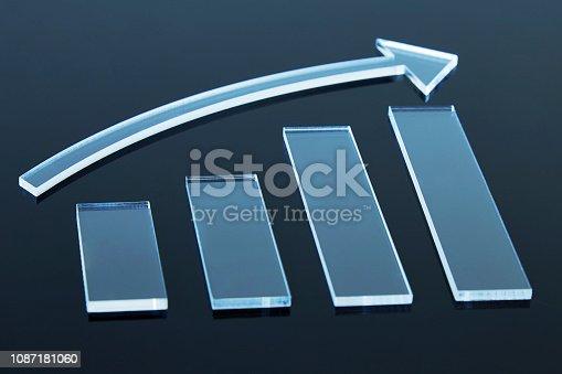 istock 3D Success graph 1087181060