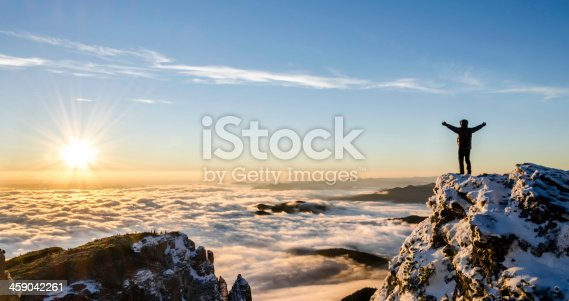 istock success in a majestic sunrise 459042261
