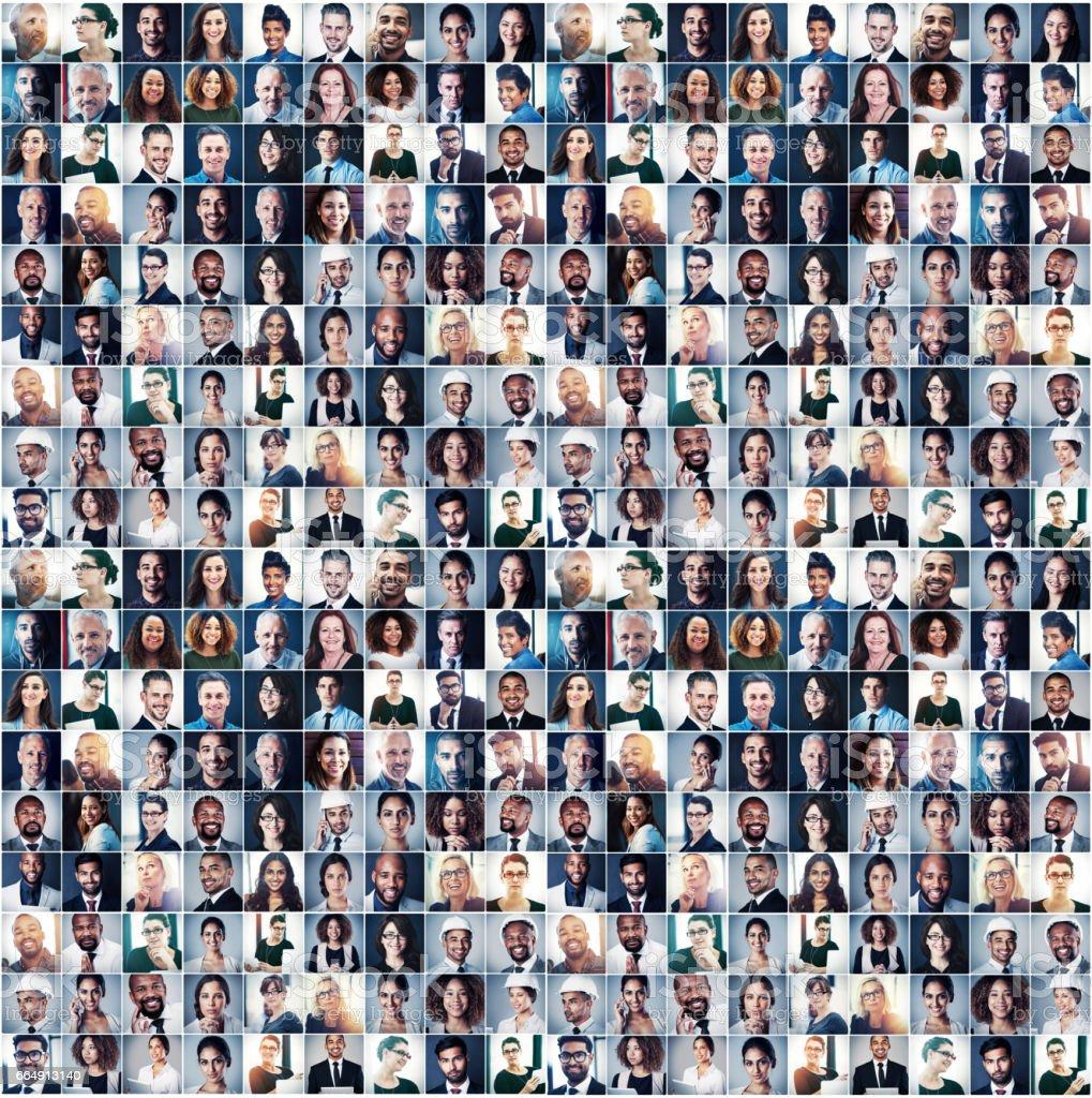 Erfolg in jedem Lächeln Lizenzfreies stock-foto