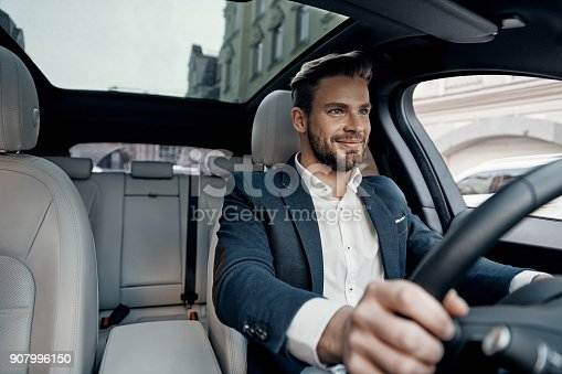 istock Success in motion. 907996150