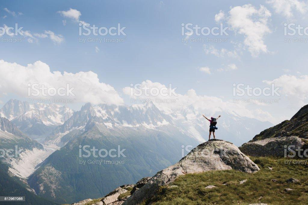Success in nature stock photo