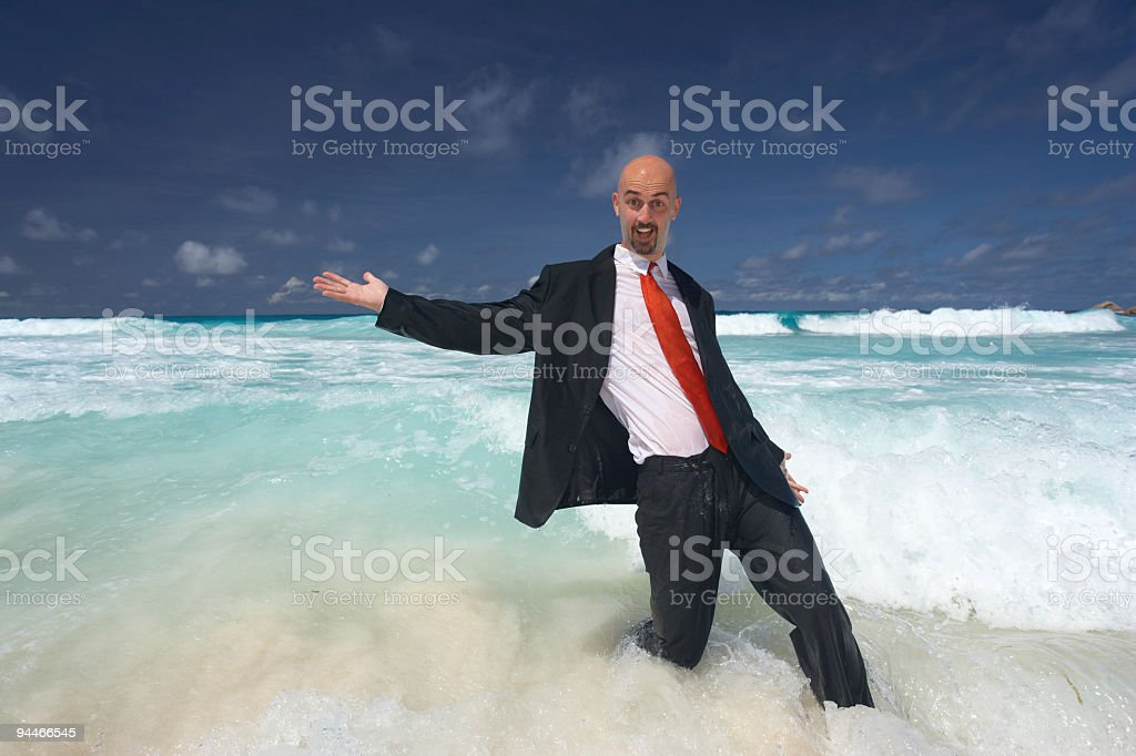 success in paradise royalty-free stock photo