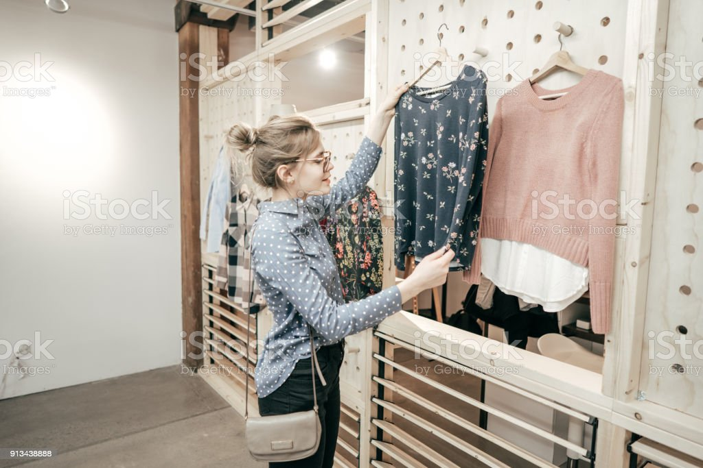 Success in retail industry stock photo