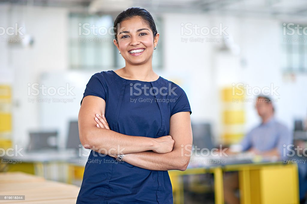 Success is a product of confidence stock photo