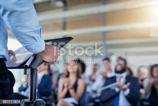 istock Success is always the main focus in their talks 937212924