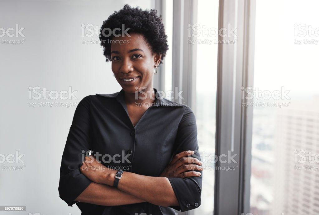 Success is for those who believe in themselves stock photo