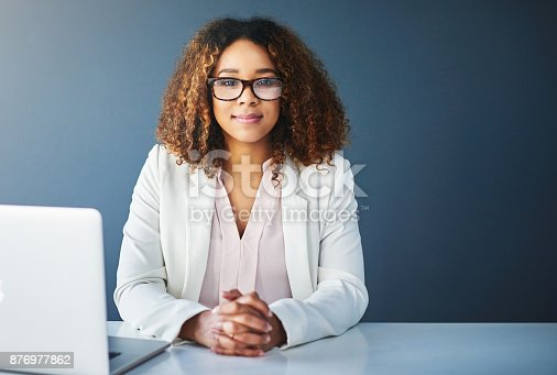 istock Success is her calling 876977862