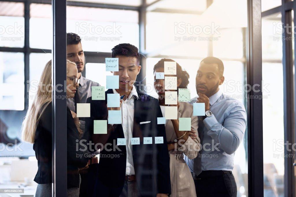 Erfolg liegt im Detail - Lizenzfrei Arbeiten Stock-Foto