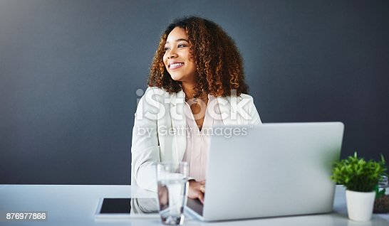 istock Success is my middle name 876977866