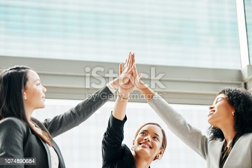 1031394114istockphoto Success is ours because we worked together 1074890684