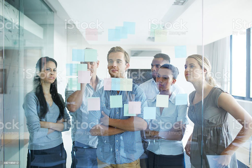 Success lies in planning ahead stock photo