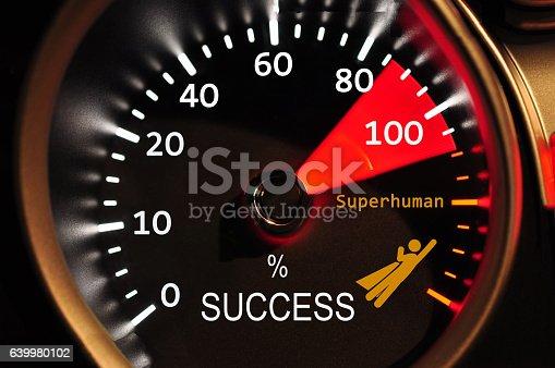 istock Success Meter 639980102