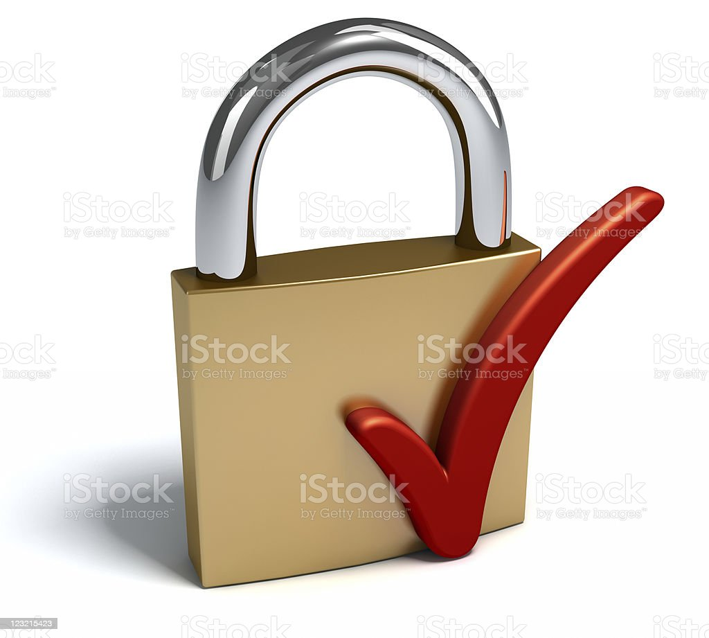 Success of  security royalty-free stock photo