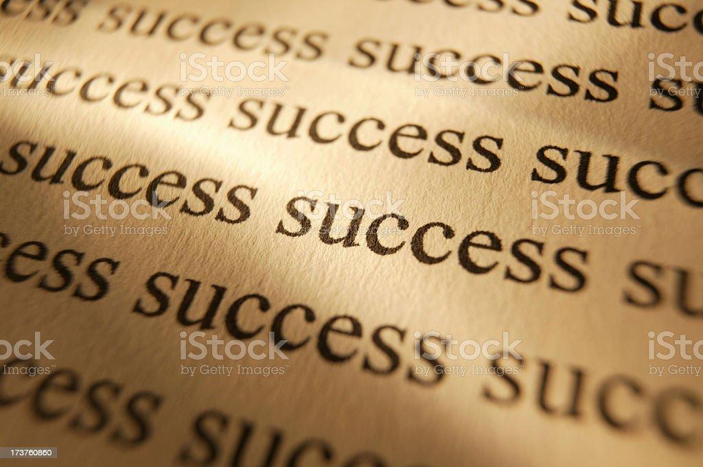 Success royalty-free stock photo
